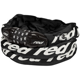 Red Cycling Products Secure Chain cijfer kettingslot zwart